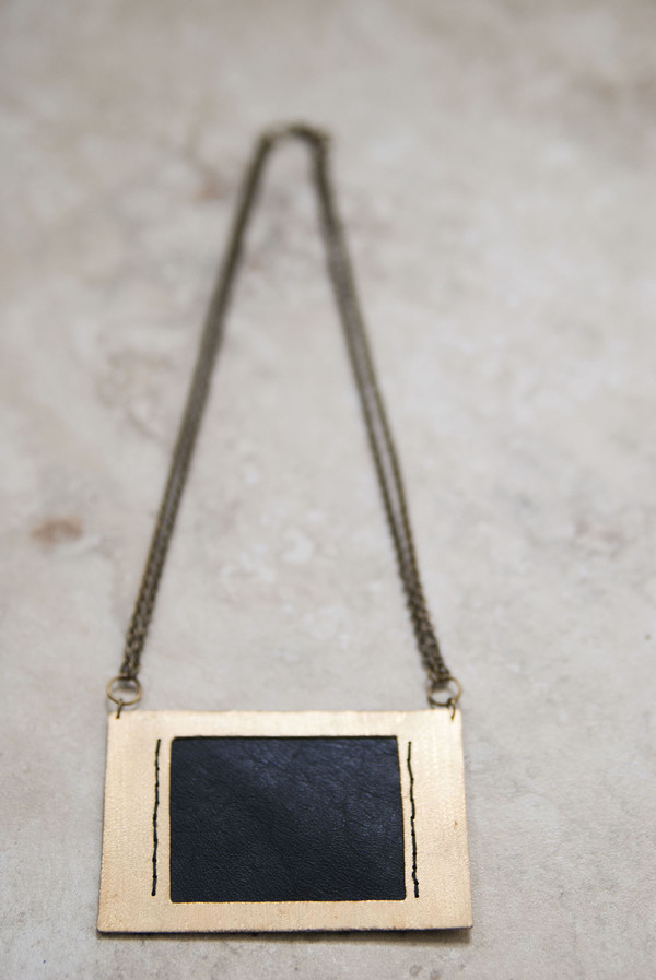 Geography 541 Pinchot Necklace