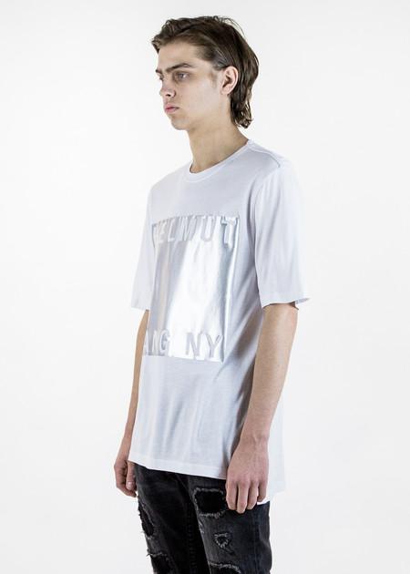 Helmut Lang White Box Film Print T-Shirt