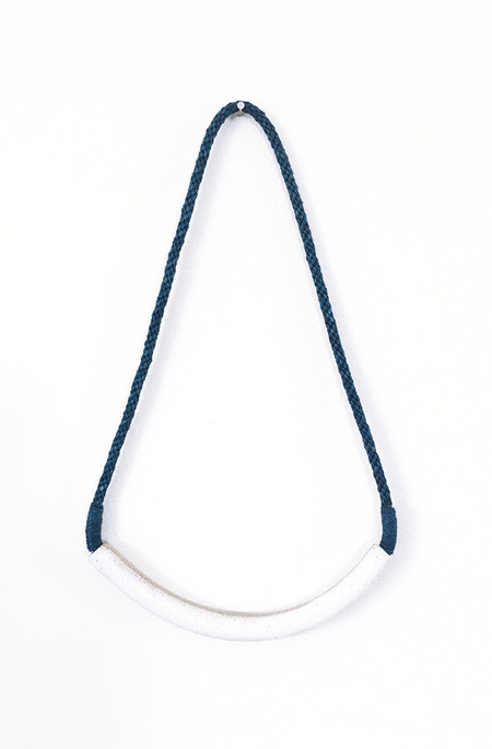 Gamma Folk Necklace No. 23 - Indigo