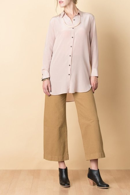 MIH Oversized Shirt In Dusty Pink