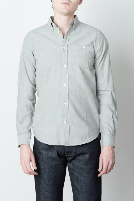 Men's Norse Projects Anton Button Up In Dried Olive