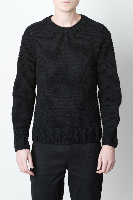 Men's Wings + Horns Handknit Wool Sweater
