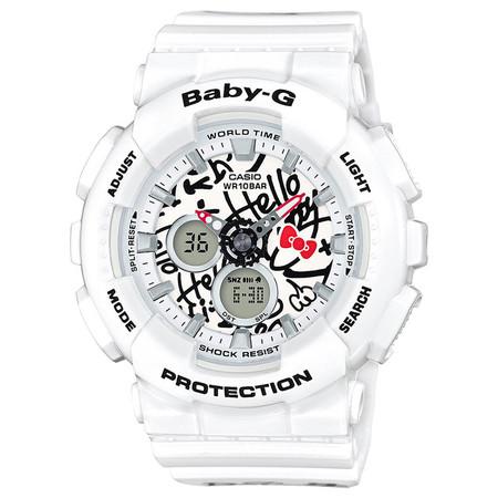 G-SHOCK BABY G X HELLO KITTY - WHITE