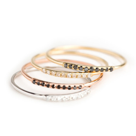 Looma Jewelry Diamond stacking Ring