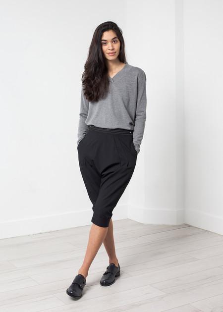 High Woven Bermuda Short