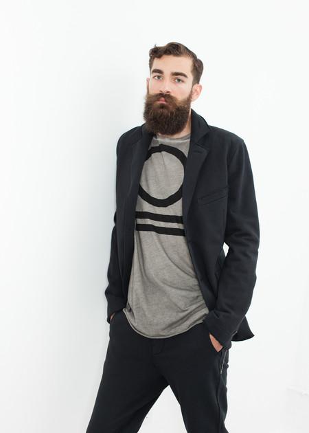 Men's Hannes Roether Men's Zampano Jacket in Black