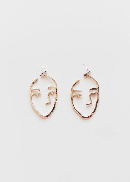 open house projects Sister Earrings
