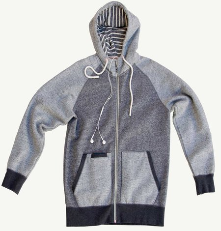 Premium Apparel Crafters - Cafe Zip Hoodie DK Heather Grey
