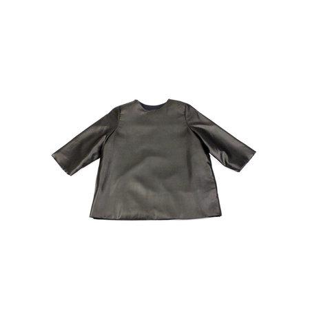 Kaarem Mollis Dyed 3/4 Sleeve Silk Top