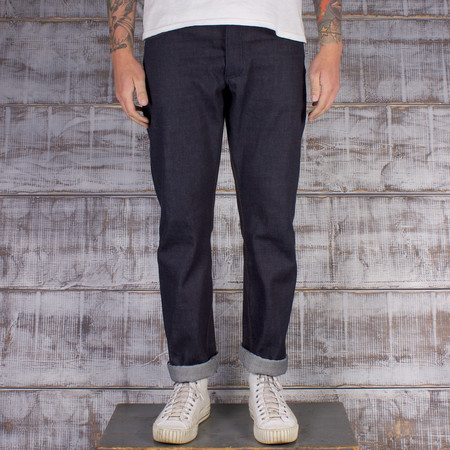 Left Field NYC Greaser - 13oz Cone Mills Red Line