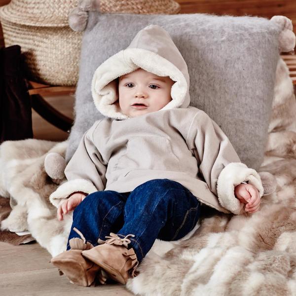 Kid's Numaé Paris Beige Bruce Jacket