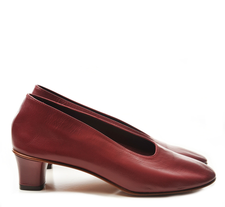 Martiniano Burgundy High Glove Shoe