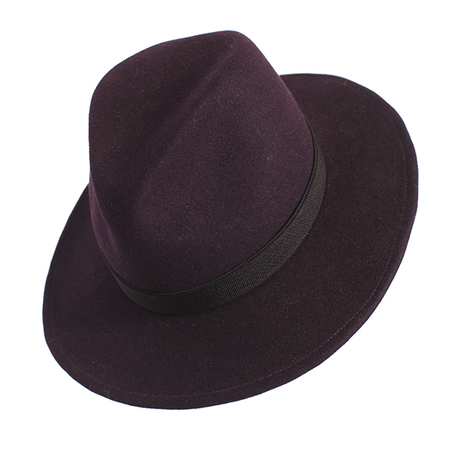 Yestadt Millinery NOMAD FELT GRAPE