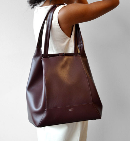 IMAGO-A Burgundy No.37 Forma Bag
