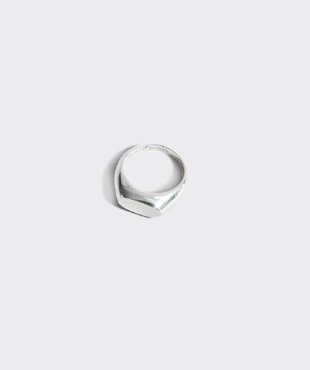 Gabriela Artigas Signet Ring - Sterling Silver