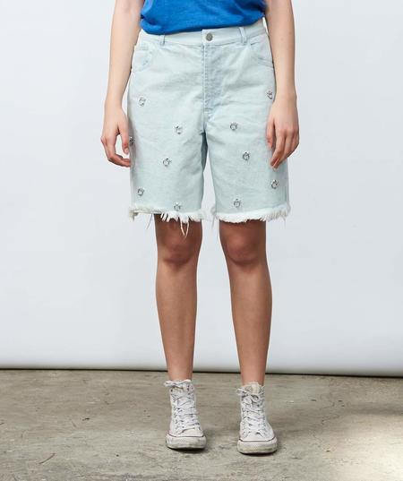 Sandy Liang Embellished Jinkoh Shorts