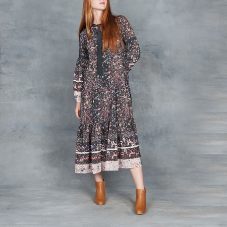 Ulla Johnson Isabetta Dress Midnight