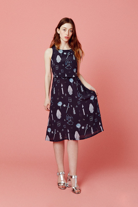 Samantha Pleet Nightfall Dress