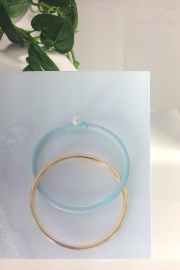 FAUX/real Couple's Bath Bracelet