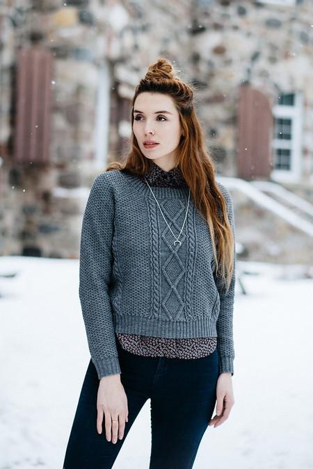 Meemoza Merino Sweater - Grey