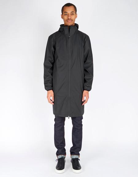 Rains Base Jacket Long Black