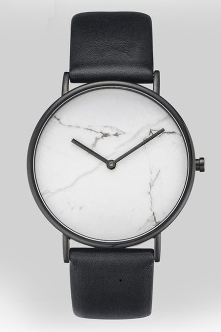 "The Horse Marble 'The Stone"" Watch - White"