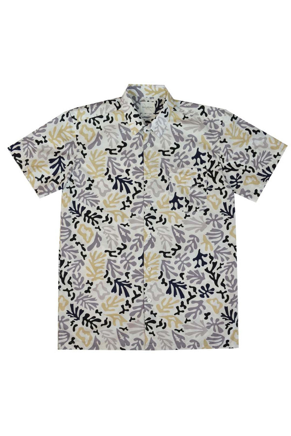 Saturdays Surf NYC BRUCE S/S CORAL SHIRT