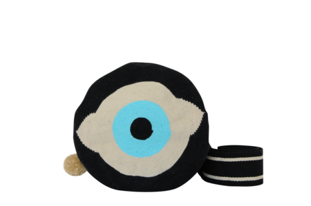 Shop Mariya Evil Eye Crossbody Mochila