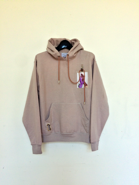 Collina Strada Cotton Photo Sweat Hoodie