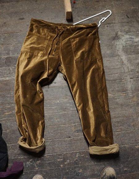 Unisex ZED velvet catch all trousers