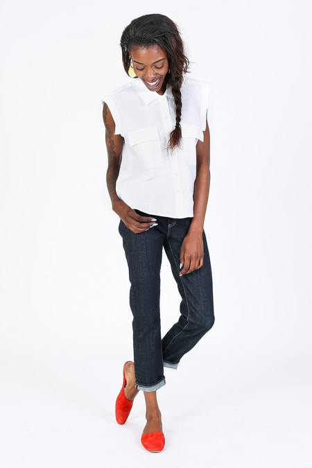 Rachel Comey Brewster Top in White