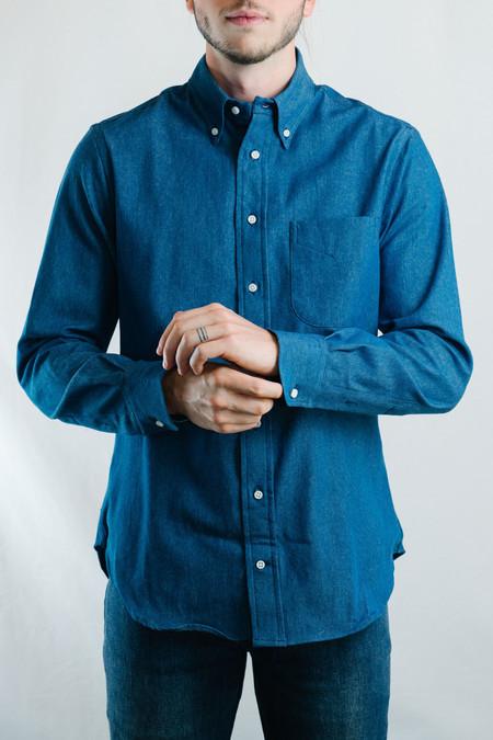 Men's Gitman Vintage 6.5 oz Japanese Denim Shirt