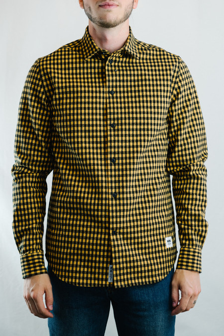 Wood Wood Greco Shirt (Lemon Checks)