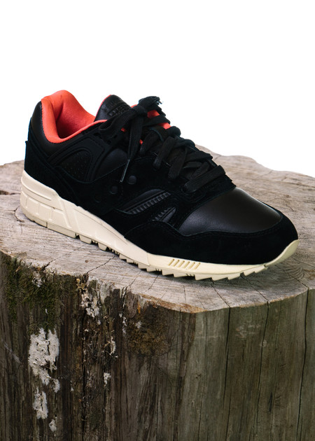 "Saucony GRID SD ""Boston Public Gardens"" (Black)"