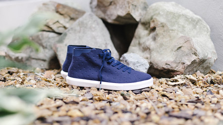 Native Shoes Monaco Mid (Regatta Blue/Shell White)