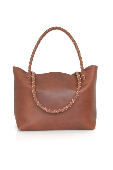 ARA Handbags Tote No. 1 (Tobacco Oil Tanned)