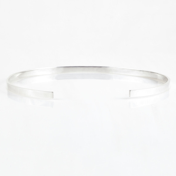 TARA 4779 Reflection Choker - Silver