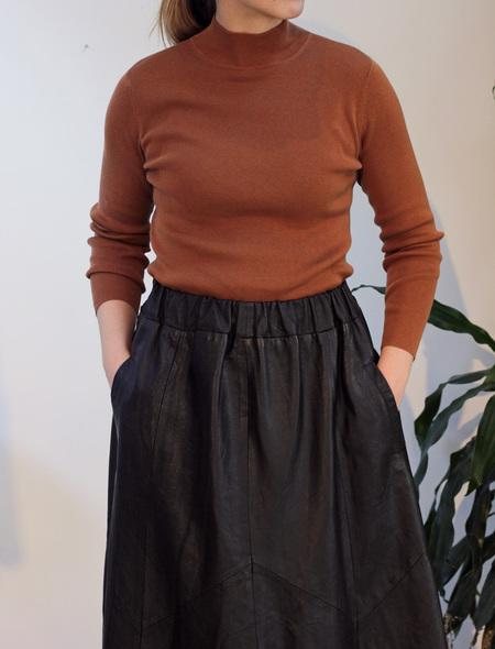 Hey Jude Vintage Knit Mockneck