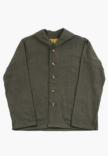 Godhuli Twill Navy Coat