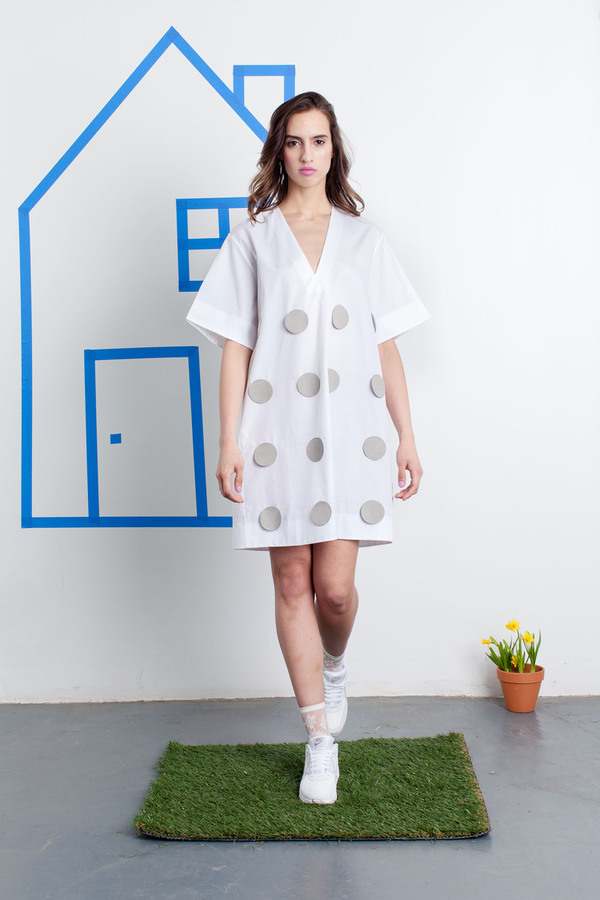 CF. Goldman Dot Tunic Dress