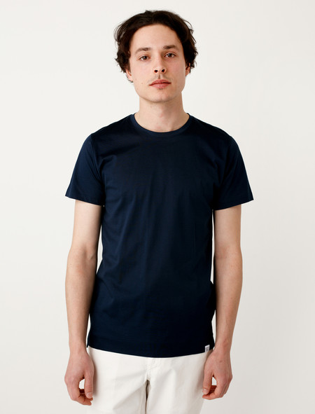 Norse Projects Esben Blind Stitch SS Navy