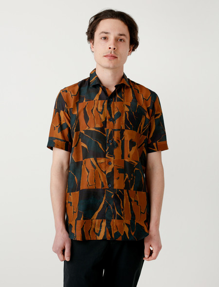 DDugoff Henry Short Sleeve Shirt Collage Grid
