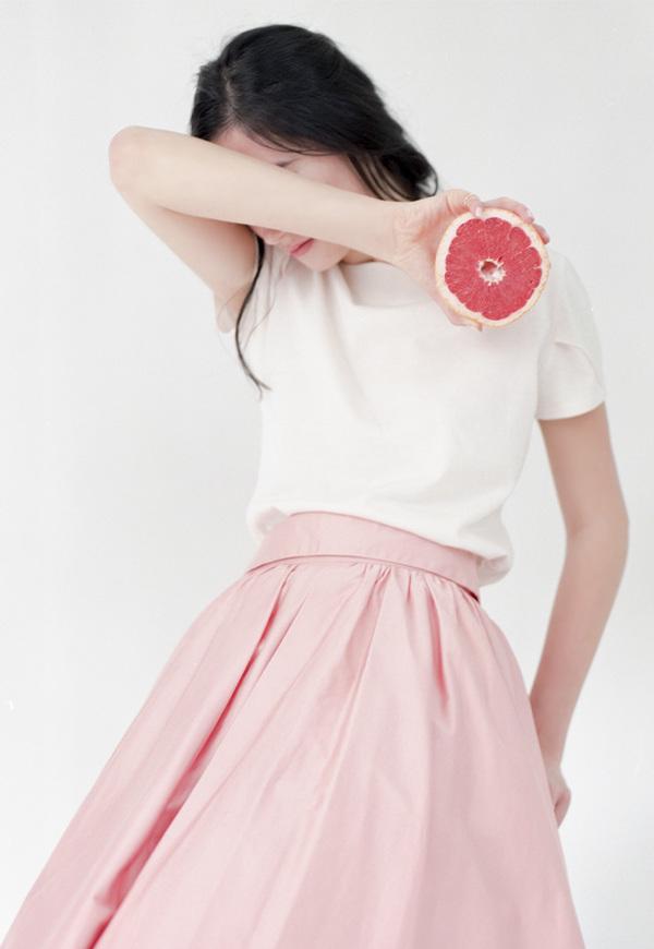 Vestige Orchard Midi Skirt