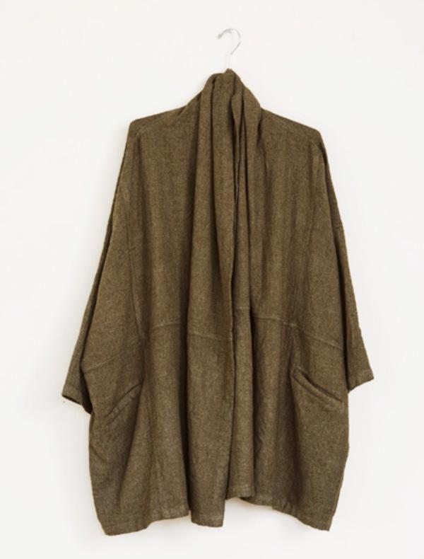 Atelier Delphine. Antwerp Coat. Fern