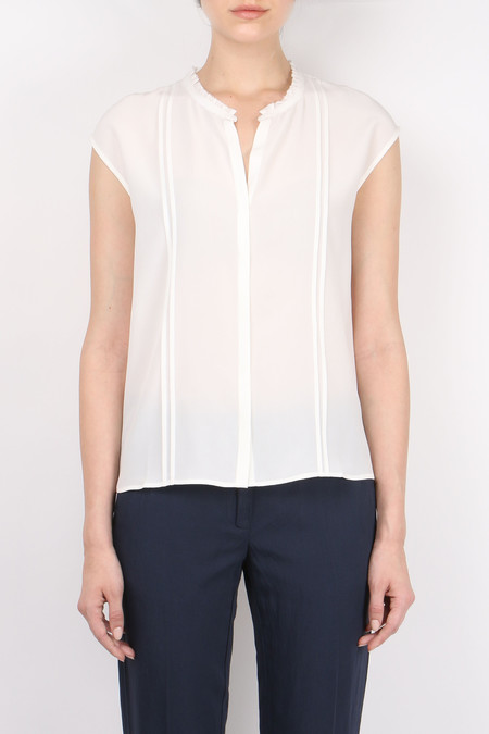 Hartford Pleat Silk Top