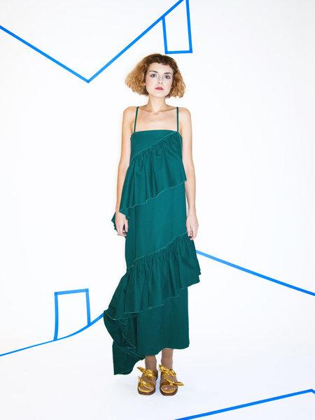 Collina Strada El Morro Long Ruffle Dress