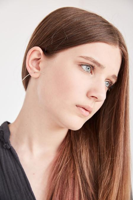 Sansoeurs Arch Earring - Silver