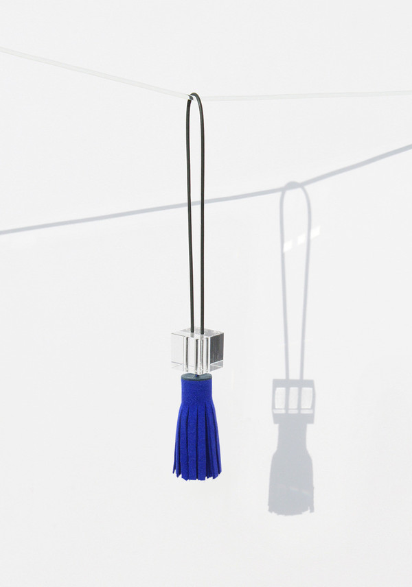 Building Block Blue Tassel