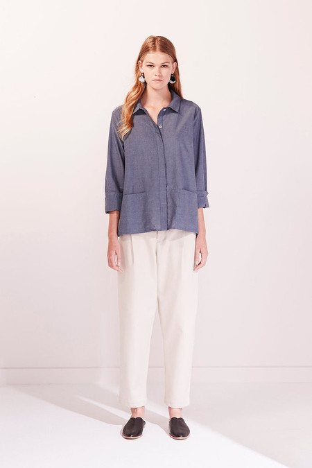 KOWTOW Cloudless Shirt in Chambray