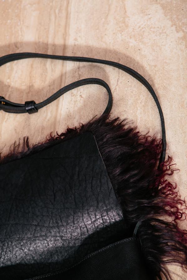 Ceri Hoover Tibet Lamb Crossbody Bag